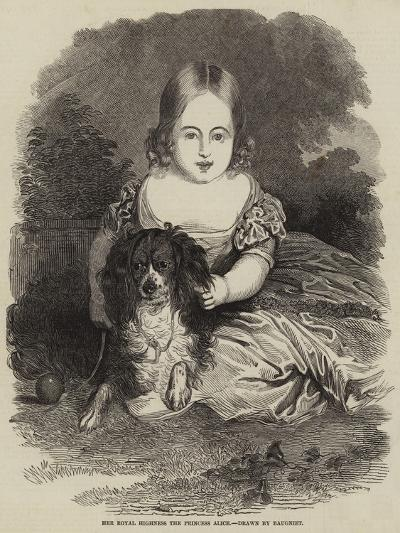 Her Royal Highness the Princess Alice-Charles Baugniet-Giclee Print