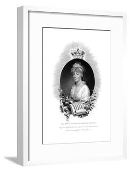 Her Royal Highness the Princess Augusta, Second Daughter of George Iii, 1806-Scriven-Framed Giclee Print