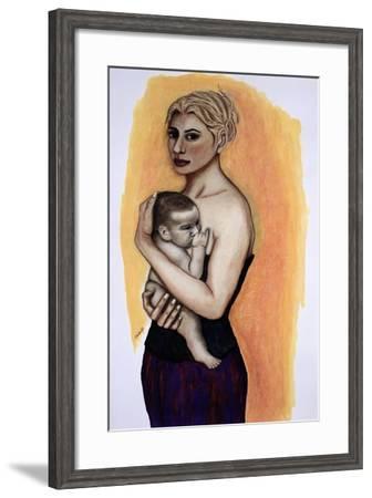 Her Son-Stevie Taylor-Framed Giclee Print