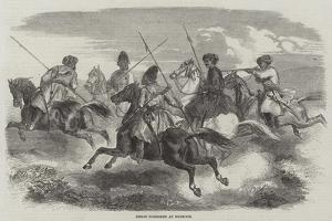 Herat Horsemen at Exercise