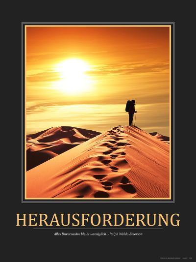 Herausforderung (German Translation)--Photo