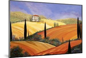 Rolling Hills Of Tuscany by Herb Dickinson