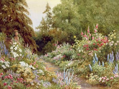 Herbaceous Border-Evelyn L. Engleheart-Giclee Print