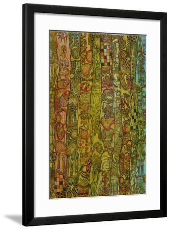 Herbal cure-Wole Oyeyemi-Framed Giclee Print
