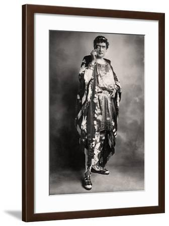 Herbert Beerbohm Tree (1853-191), English Actor, Early 20th Century-FW Burford-Framed Photographic Print