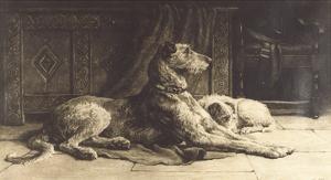 Companions by Herbert Dicksee