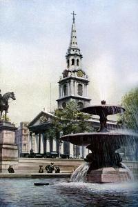 Church of St Martin-In-The-Fields, Trafalgar Square, London, C1930S by Herbert Felton