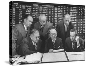 Rudolf Smutney,Herbert I Losee,Theodore A Von Glahn,Benjamin J Levy,Herbert Salmon,Gerard L Spencer by Herbert Gehr
