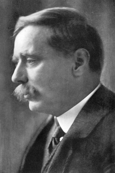 Herbert George Wells, British Novelist, 1914-Emil Otto Hoppe-Photographic Print