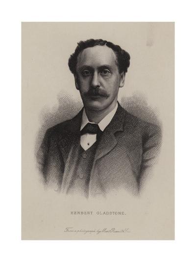 Herbert Gladstone, British Politician--Giclee Print