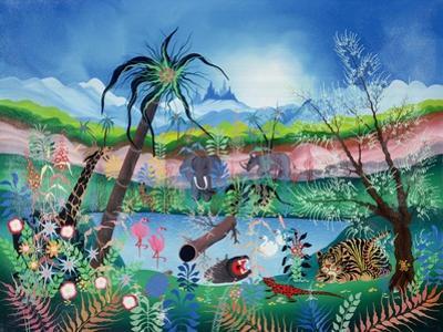 The Garden of Eden by Herbert Hofer
