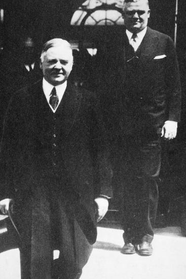 Herbert Hoover, 31st President of the United States, 1930s-Unknown-Photographic Print