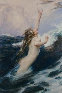 Flying Fish, 1910 by Herbert James Draper