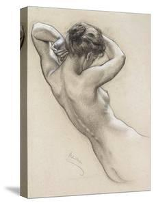 Study for a Water Nymph, Late 19th or Early 20th Century by Herbert James Draper