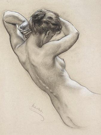Study for a Water Nymph, Late 19th or Early 20th Century
