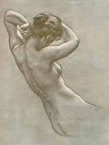 Study for Prospero Summoning Nymphs and Deities, C1902, (1903) by Herbert James Draper