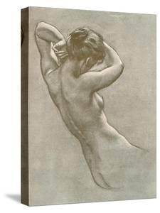 Study for Prospero Summoning Nymphs and Deities, C1902, (1903) by Herbert James Draper