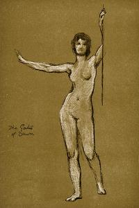 Study for the Gates of Dawn, 1900 by Herbert James Draper