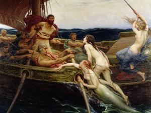 Ulysses and the Sirens, 1909 by Herbert James Draper