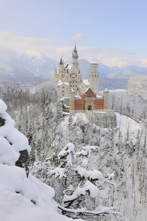 Germany, Bavaria, AllgŠu, Neuschwanstein Castle