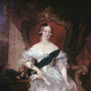 Portrait of Queen Victoria, 19th Century by Herbert Luther Smith