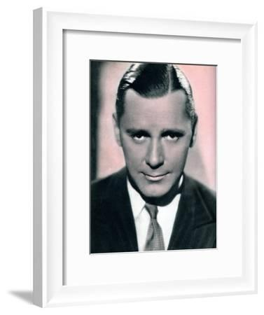 Herbert Marshall, British Film and Theatre Actor, 1934-1935--Framed Giclee Print