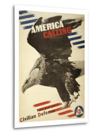 America Calling, Take Your Place in Civilian Defense, c.1941