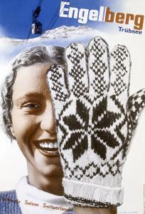 Engelberg Ski by Herbert Matter