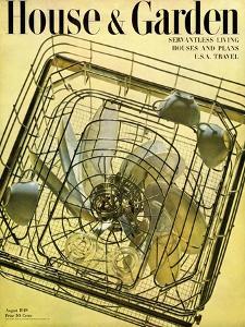 House & Garden Cover - August 1948 by Herbert Matter
