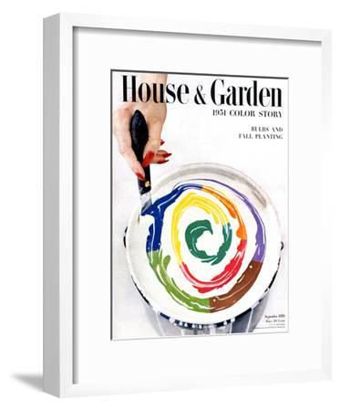 House & Garden Cover - September 1950