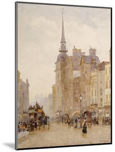 Looking Down Ludgate Hill from the Steps of St. Pauls, 1900 by Herbert Menzies Marshall