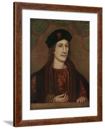 Herbert of Raglan, (Charles of Somerset, Baro), Aged 30, A.D 1505, 20th Century--Framed Giclee Print