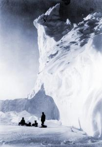 Dog Team Resting During the Terra Nova Expedition, 1910 by Herbert Ponting