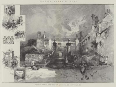Hoghton Tower, the Seat of Sir James De Hoghton, Baronet