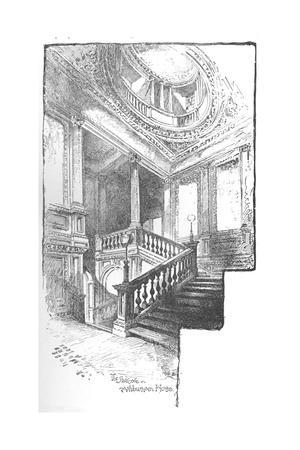 'The Staircase, Ashburnham House', 1890