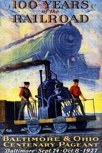100 Years of the Railroad by Herbert Stitt