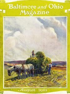 August, 1922 by Herbert Stitt