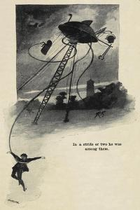 An Illustration From War Of the Worlds by Herbert Wells