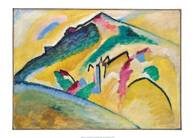 Herbstlandschaft (1911)-Wassily Kandinsky-Art Print