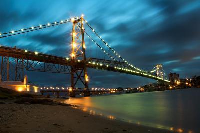 Hercilio Luz Bridge-cavasotti-Photographic Print