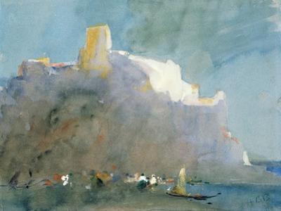 In the Bay of Sorrento by Hercules Brabazon Brabazon