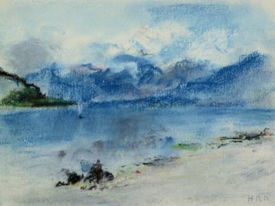 Lake Maggiore by Hercules Brabazon Brabazon