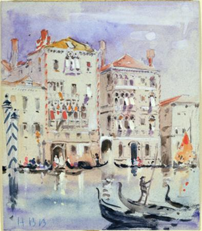 Palazzo Dario, Venice by Hercules Brabazon Brabazon