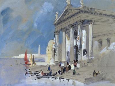San Giorgio Maggiore, Venice by Hercules Brabazon Brabazon
