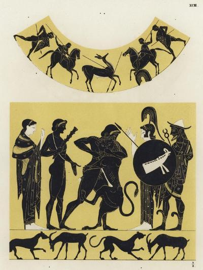Hercules Fighting the Nemean Lion--Giclee Print