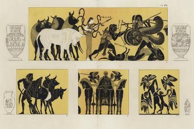 Hercules in Battle with Geryon--Giclee Print