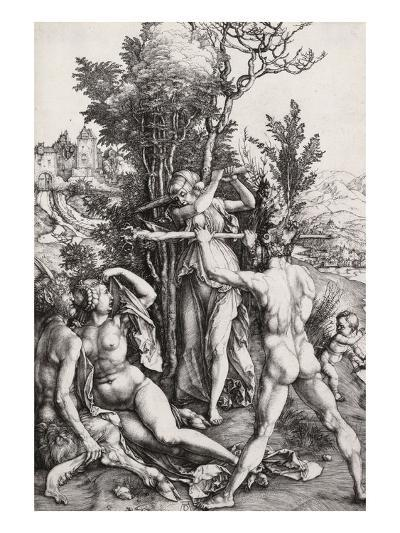 Hercules, or the Effects of Jealousy-Albrecht D?rer-Giclee Print