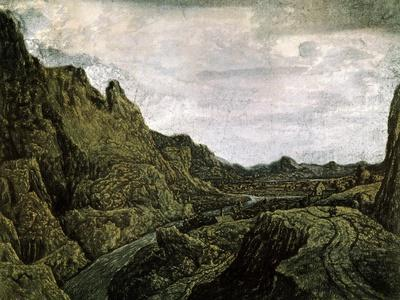 Rocky Valley with a Road, 17th Century