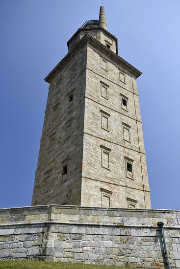Hercules Tower, Oldest Roman Lighthouse in Use Todaya Coruna, Galicia, Spain, Europe-Matt Frost-Photographic Print