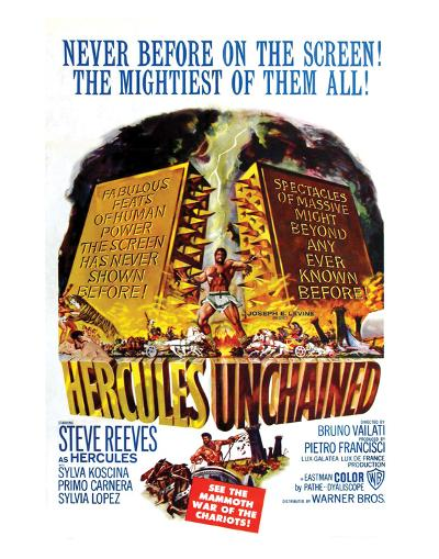 Hercules Unchained - 1959--Giclee Print